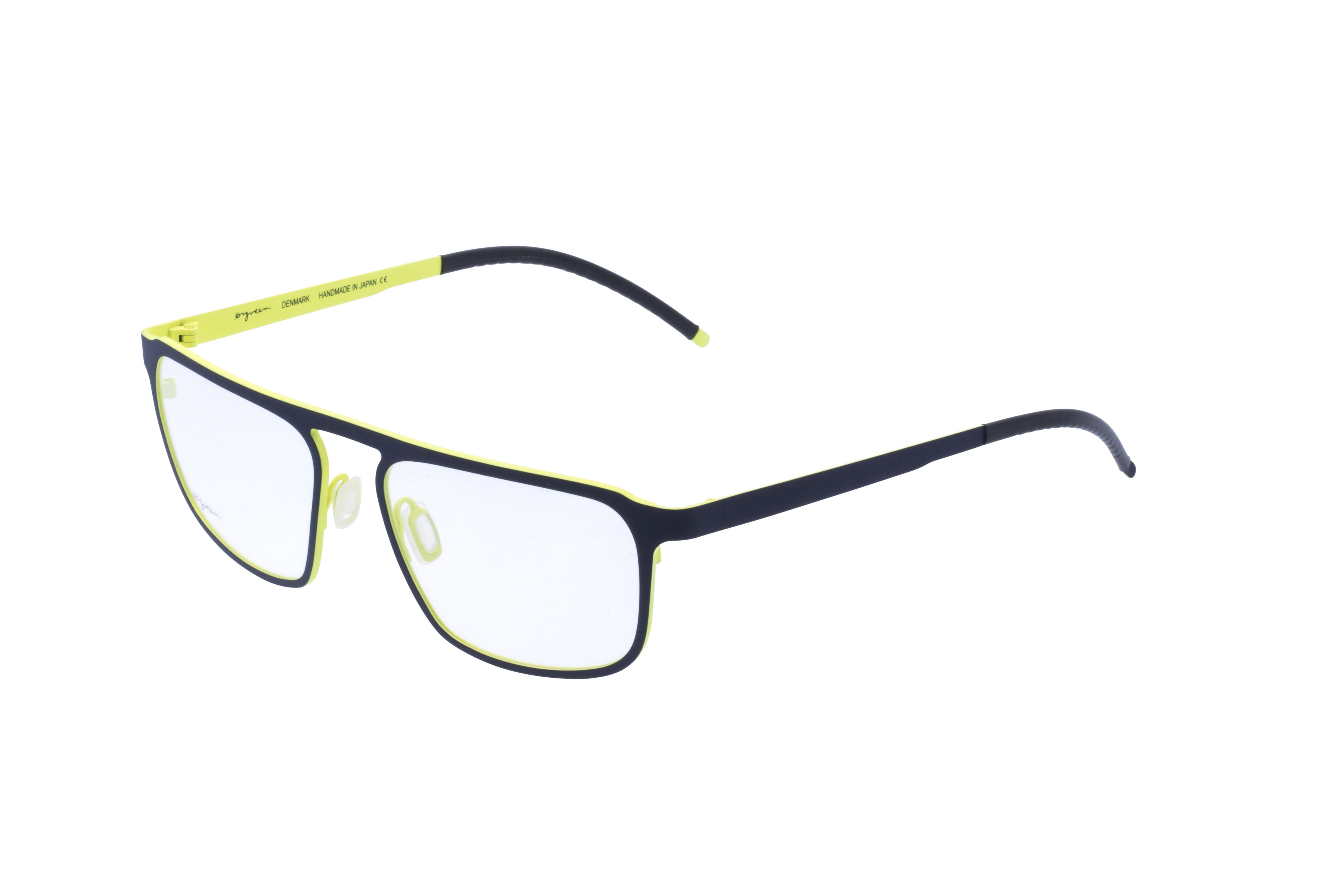 360 Grad Ansicht 21 Orgreen Crow, Brille auf Weiß - Fassung bei KUNK