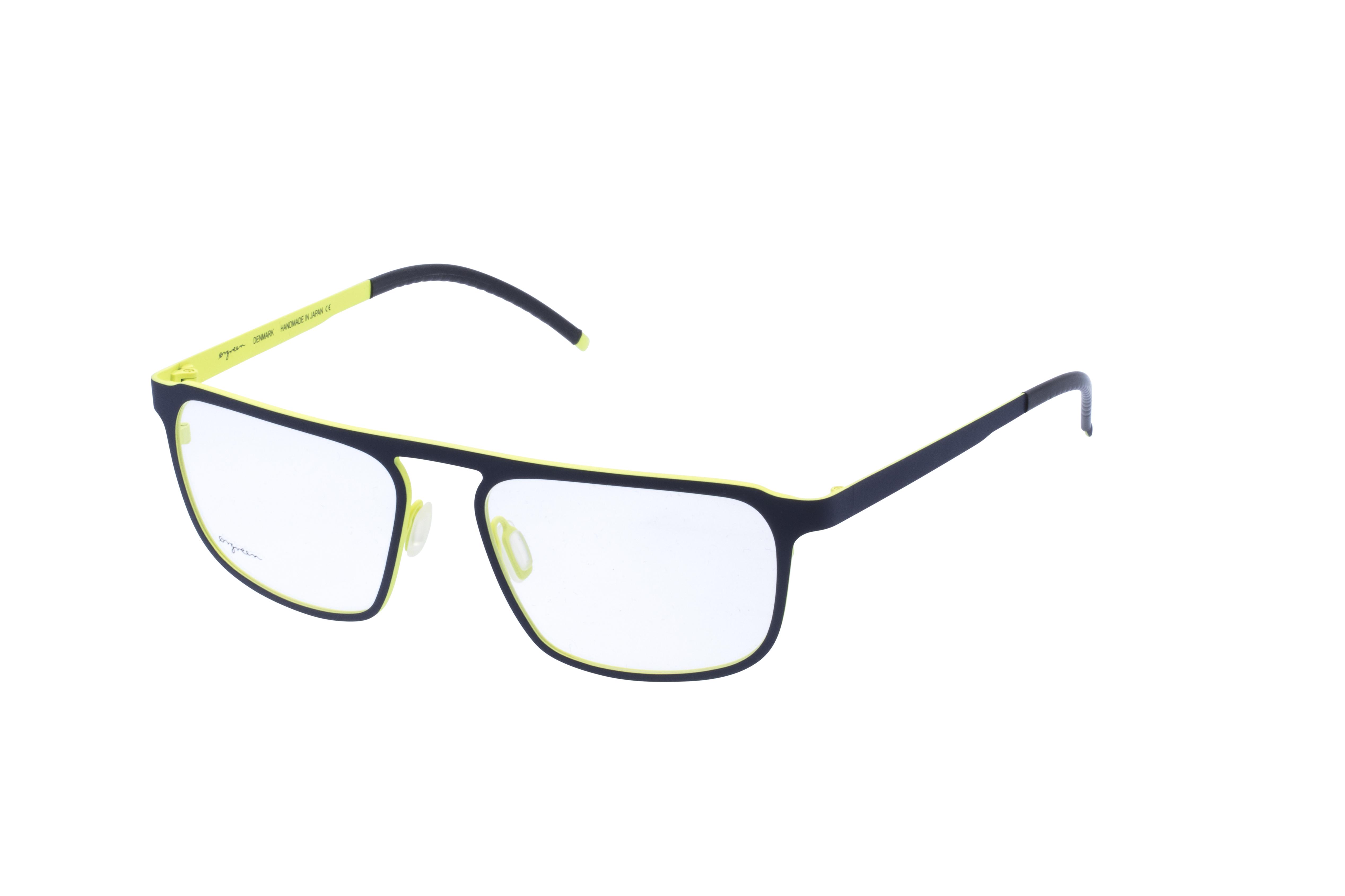 360 Grad Ansicht 22 Orgreen Crow, Brille auf Weiß - Fassung bei KUNK