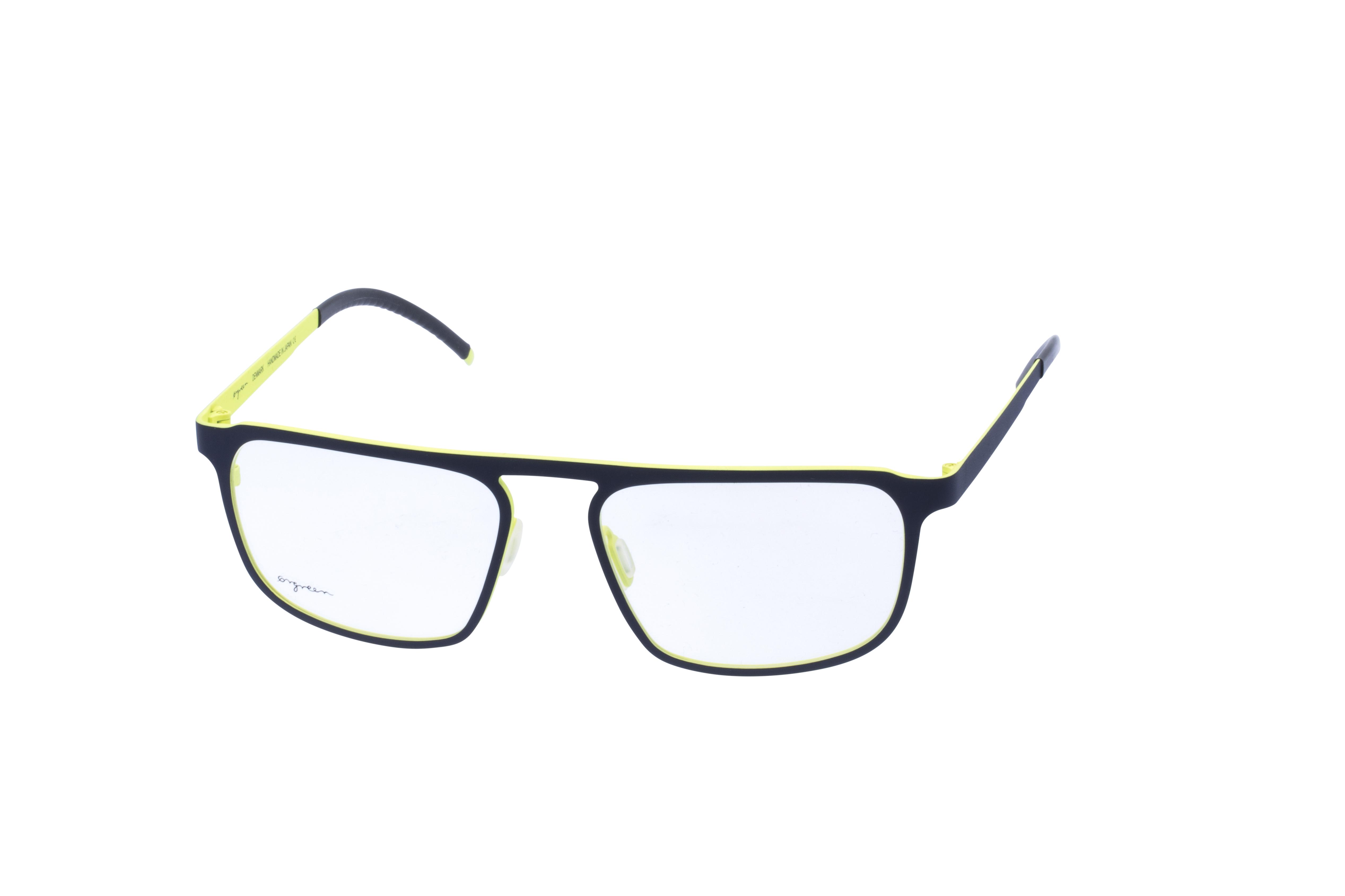 360 Grad Ansicht 23 Orgreen Crow, Brille auf Weiß - Fassung bei KUNK