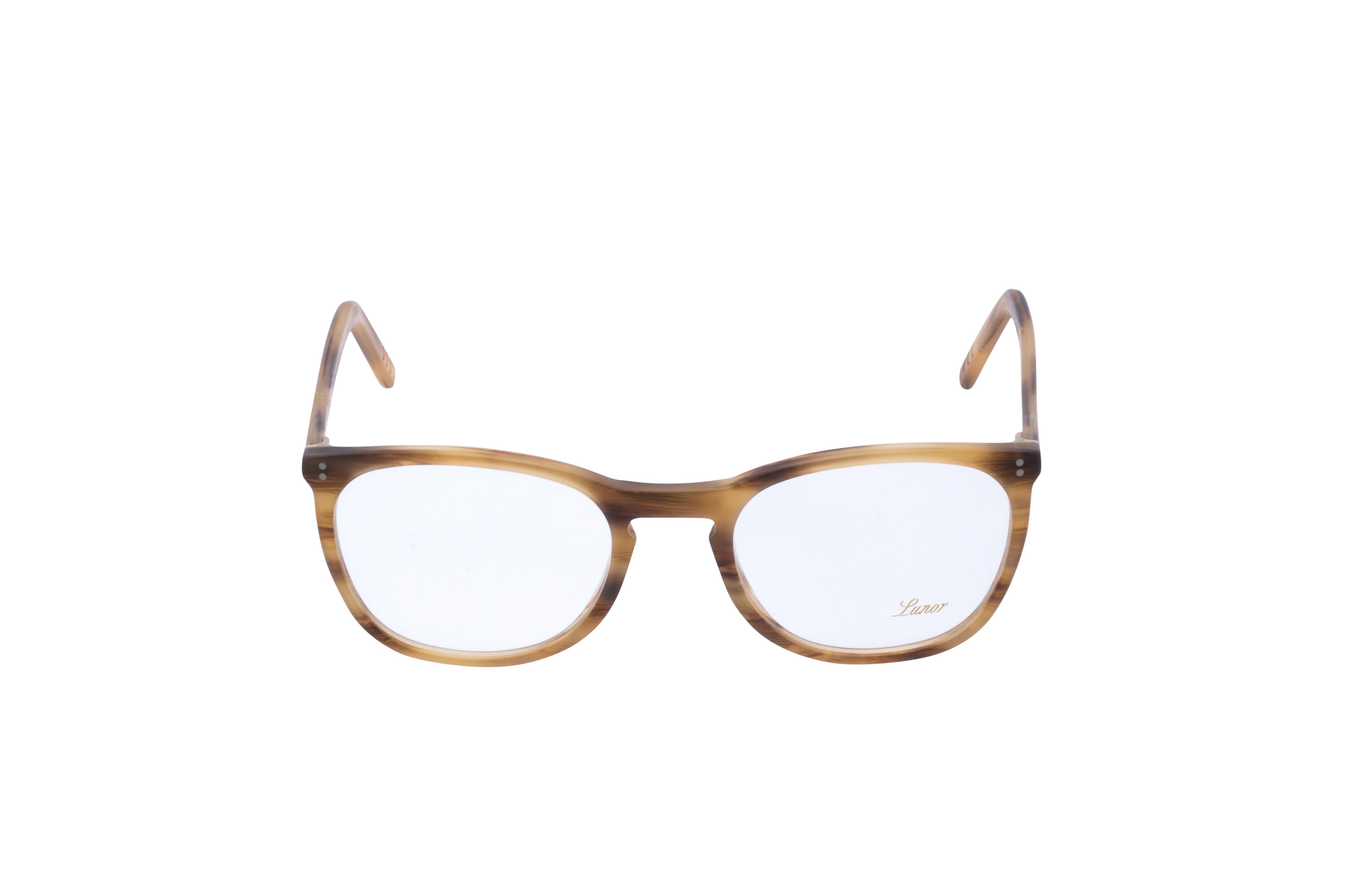 Lunor 312 Frontansicht, Brille auf Weiß