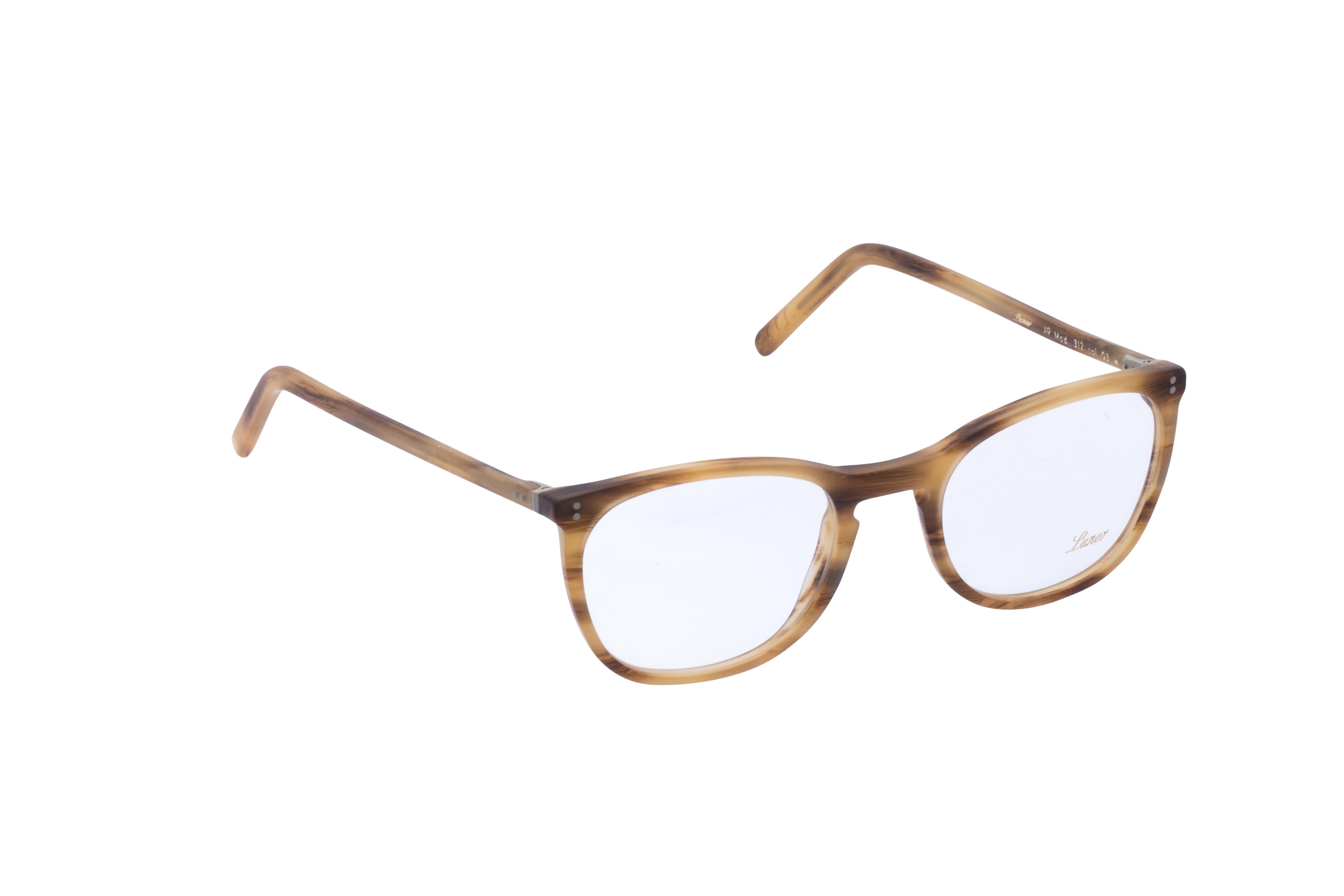 360 Grad Ansicht 2 Lunor 312, Brille auf Weiß - Fassung bei KUNK