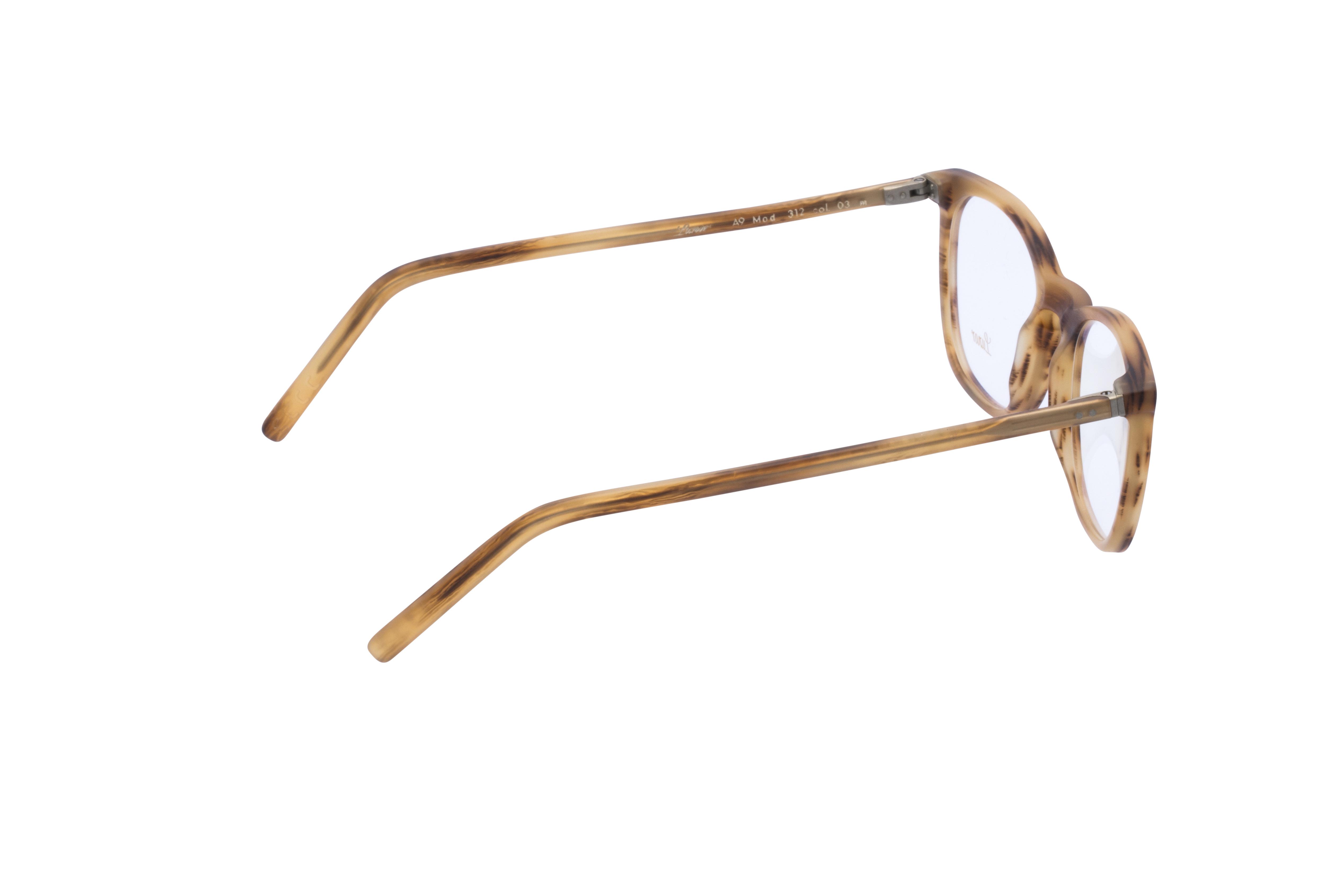 360 Grad Ansicht 7 Lunor 312, Brille auf Weiß - Fassung bei KUNK