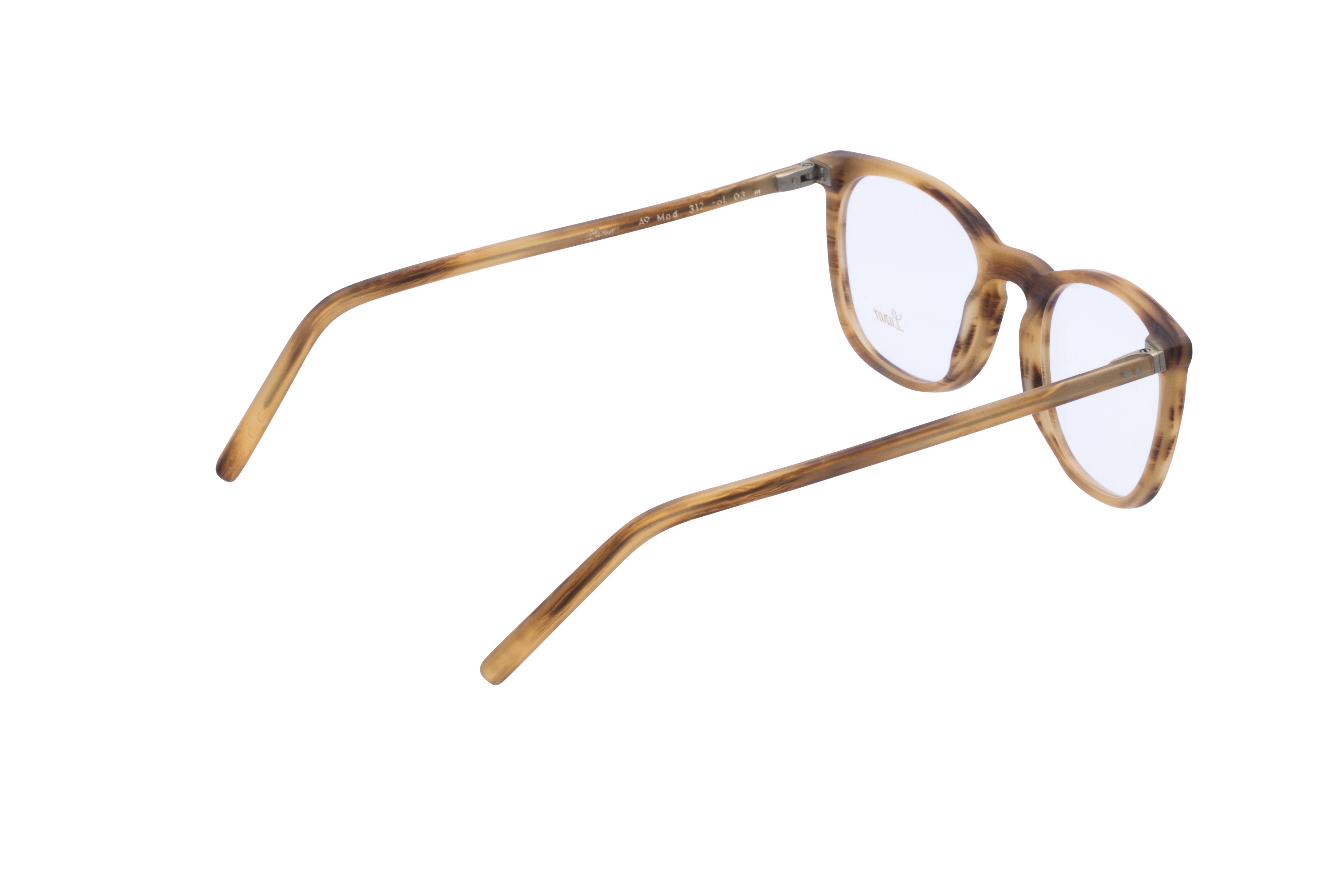 360 Grad Ansicht 8 Lunor 312, Brille auf Weiß - Fassung bei KUNK