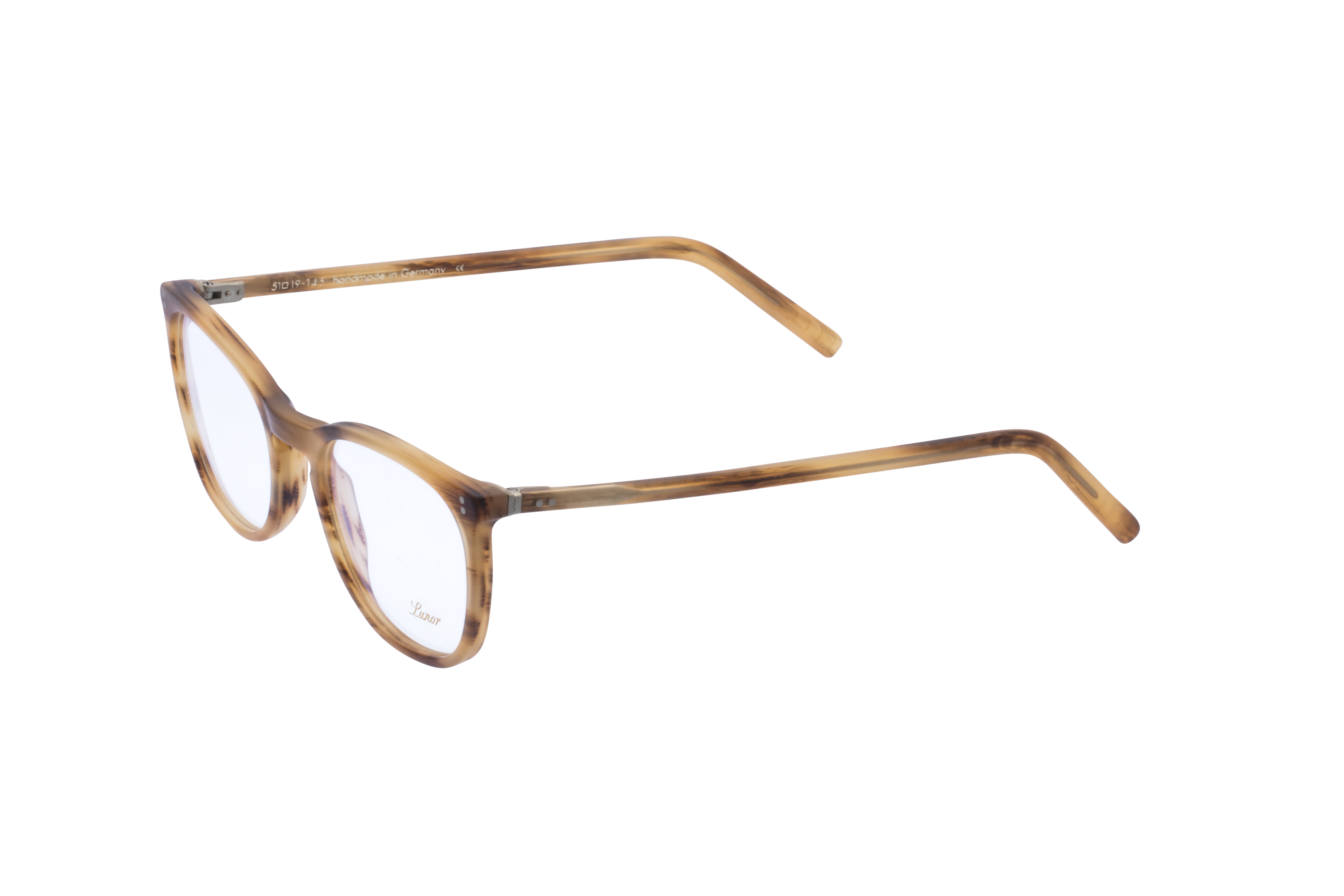 360 Grad Ansicht 20 Lunor 312, Brille auf Weiß - Fassung bei KUNK