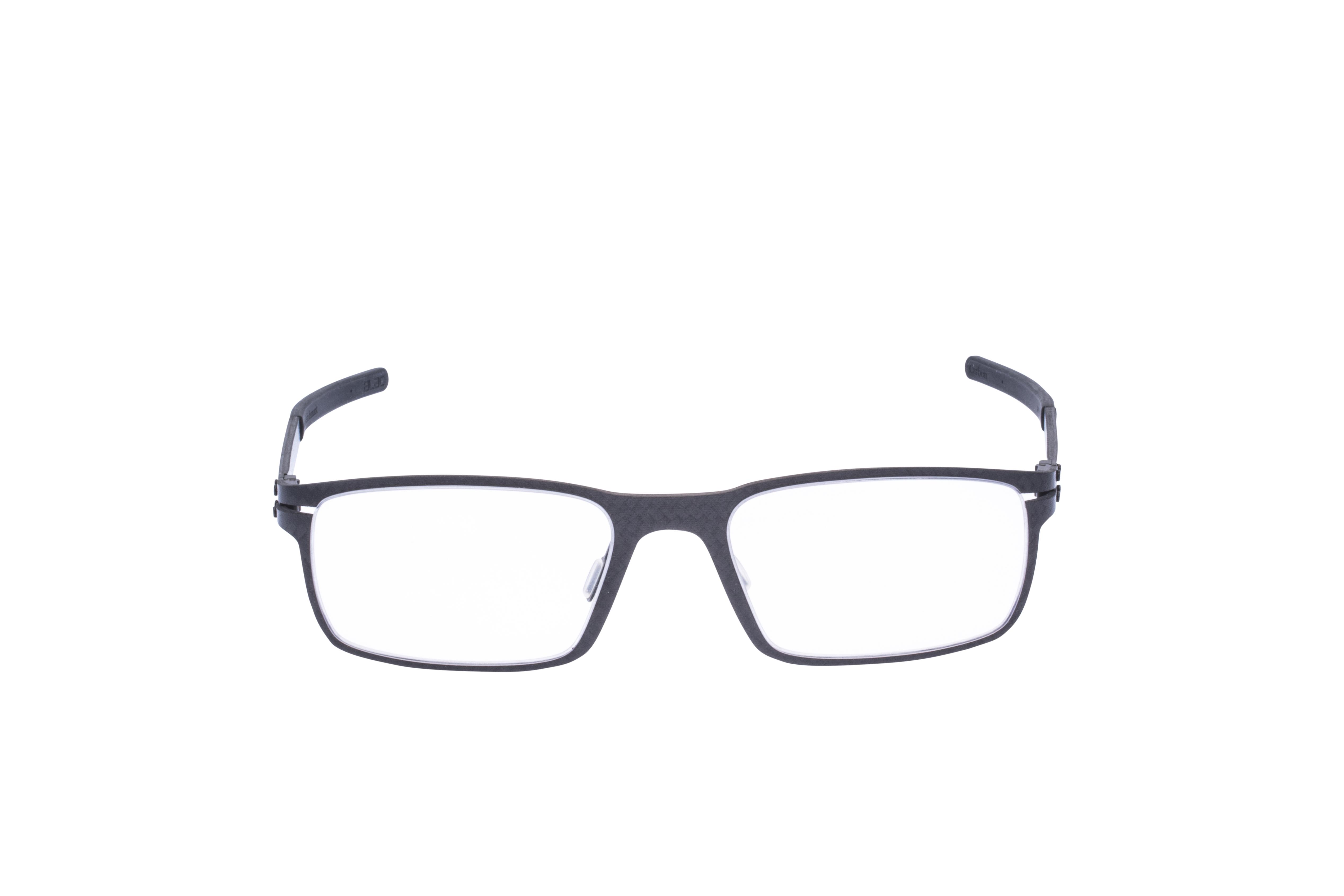 Blac Dunes Frontansicht, Brille auf Weiß